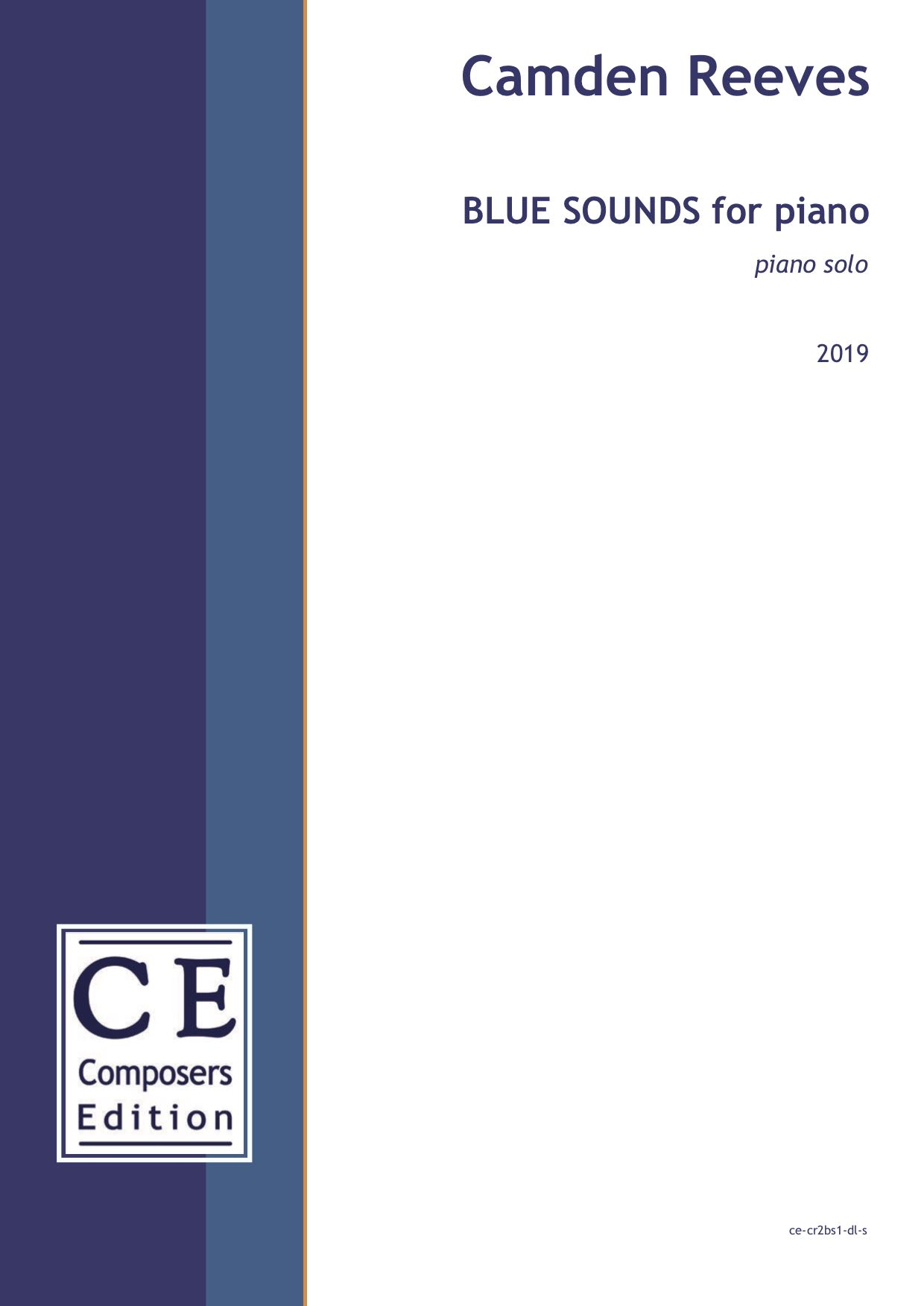 Camden Reeves Blue Sounds for Piano