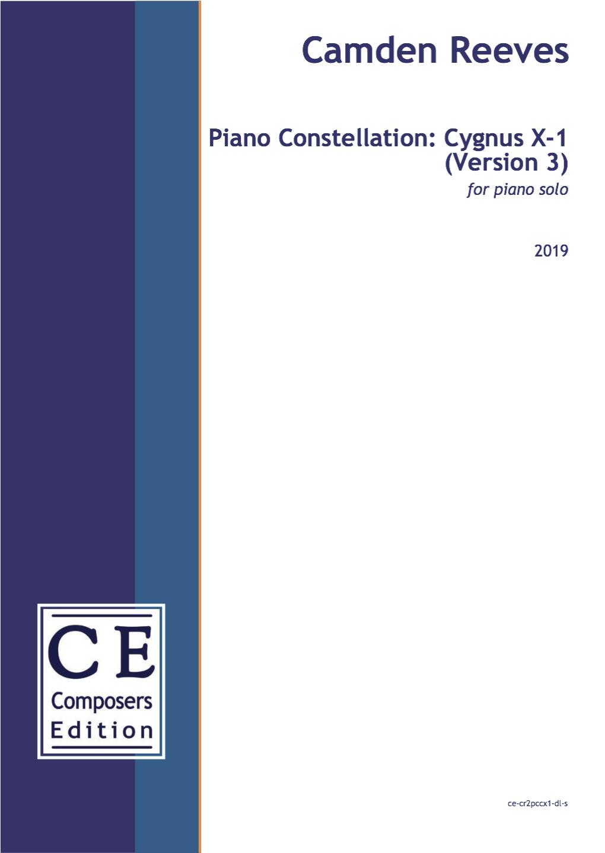 Camden Reeves Piano Constellation Cygnus X-1 Version 3